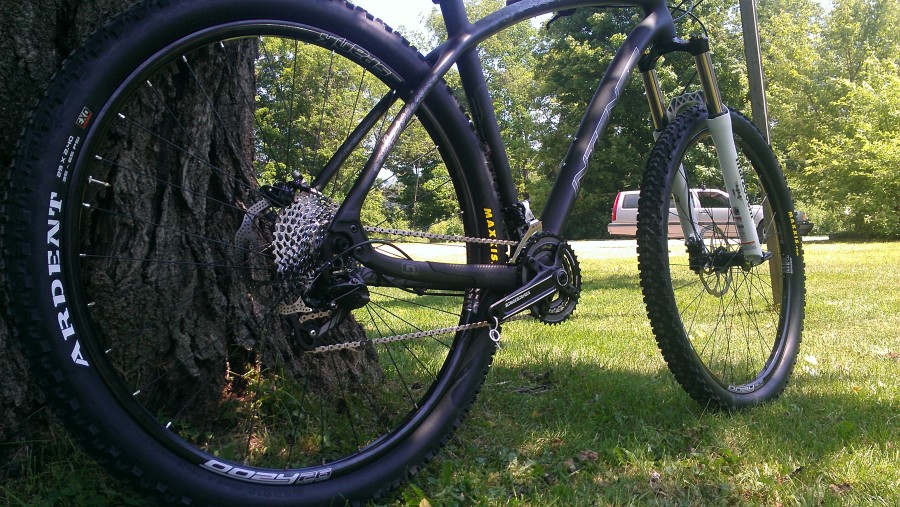 2x10 Drivetrain with Shimano XT FD, SRAM X9 RD, and chain and cassette to match