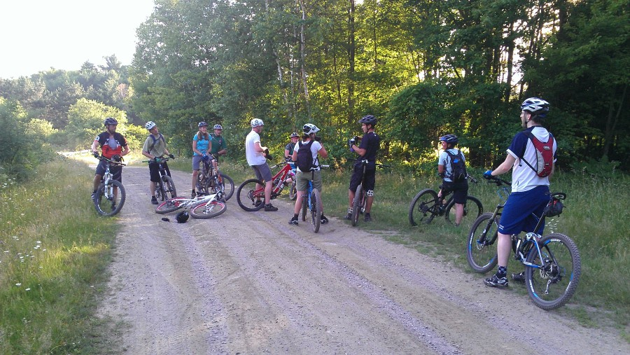 We always have an awesome group of riders.  Help us continue to grow these group rides!