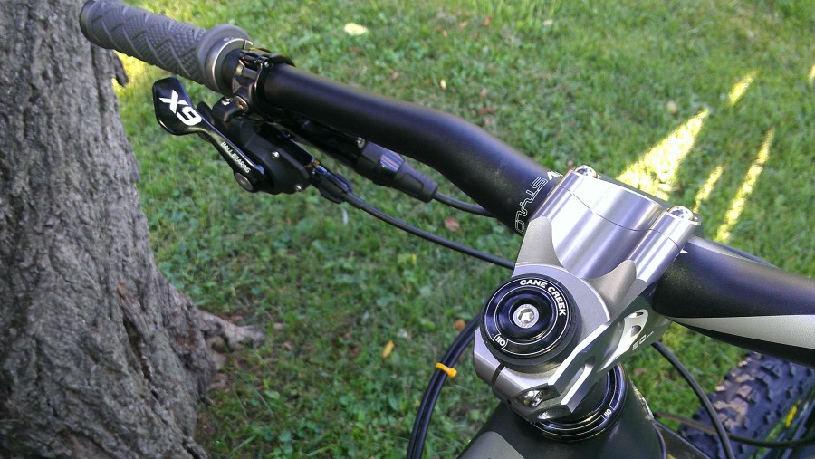 X9 10 speed shifters and a Straightline Stem