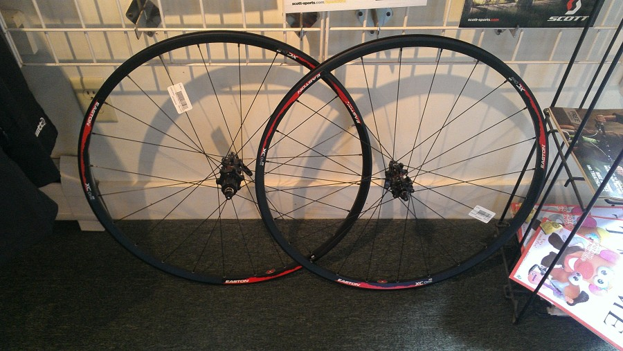 Nice, light 29er wheelset from Easton