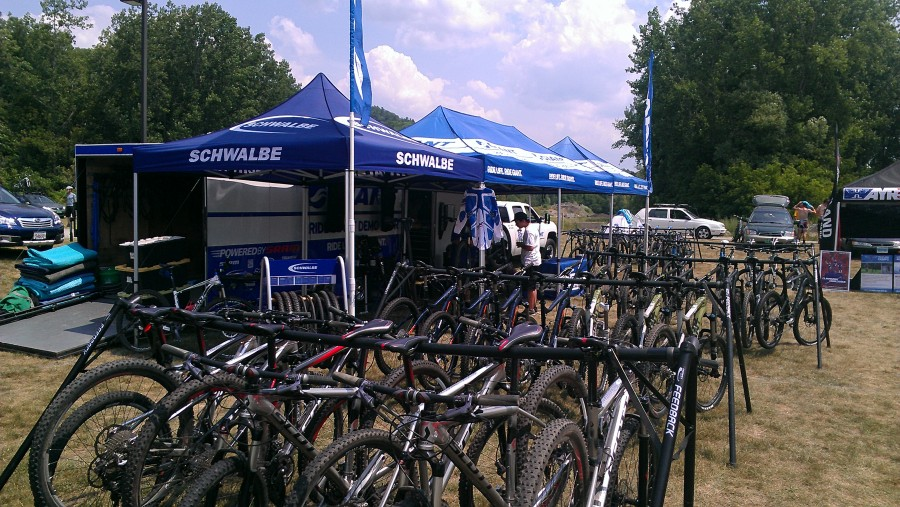 Look at all those bikes!