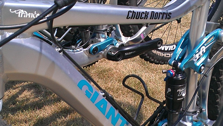 Best name for a bike ever?  Especially a women's bike... what lady doesn't want to ride Chuck Norris?