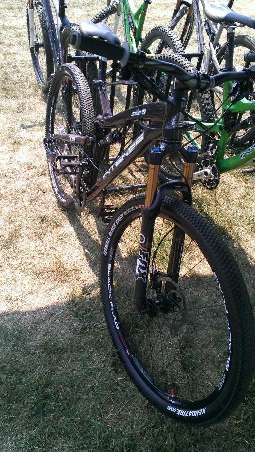 Another brand new demo bike - Intense Spider 29