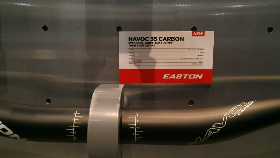 Easton Havoc 35 Carbon Handlebars