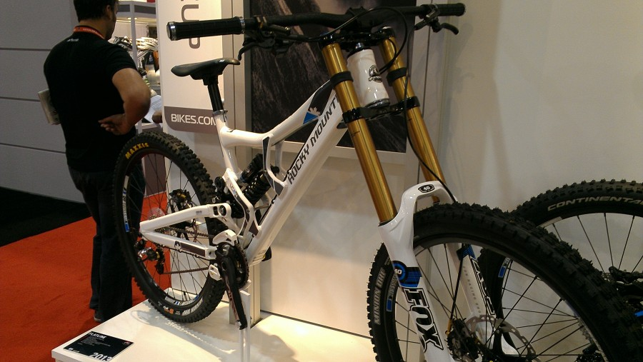 Rocky Mountain's full on DH bike!  Hopefully more useful in the Stowe area in years to come!