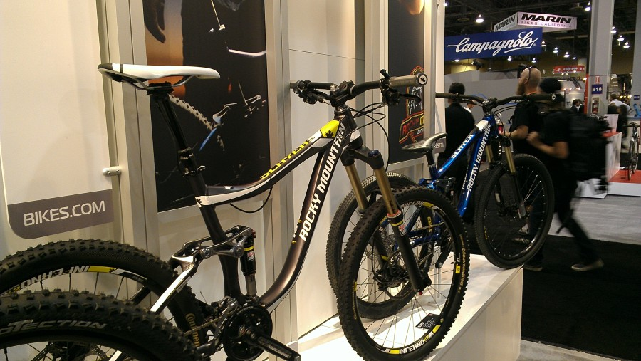 The Slayer line from Rocky Mountain ranges from all mountain/enduro to gravity fed slopestyle riding.