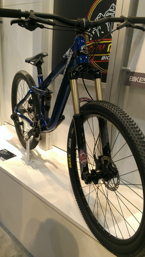 Rocky Mountain Slayer SS - a bike designed for predominantly slope style gravity riding.