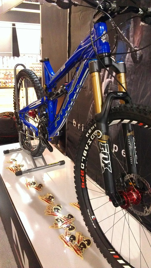 The Tracer 275 was definitely one of the highlights and most talked about products of the show.  We found this one at another company's booth, looking good!