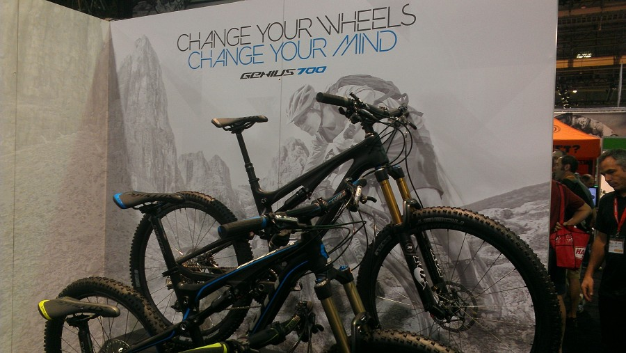 The 650B version of the Scott Genius.  Definitely going to be a great bike for the Stowe area and has been receiving tons of high praise in press since Interbike.