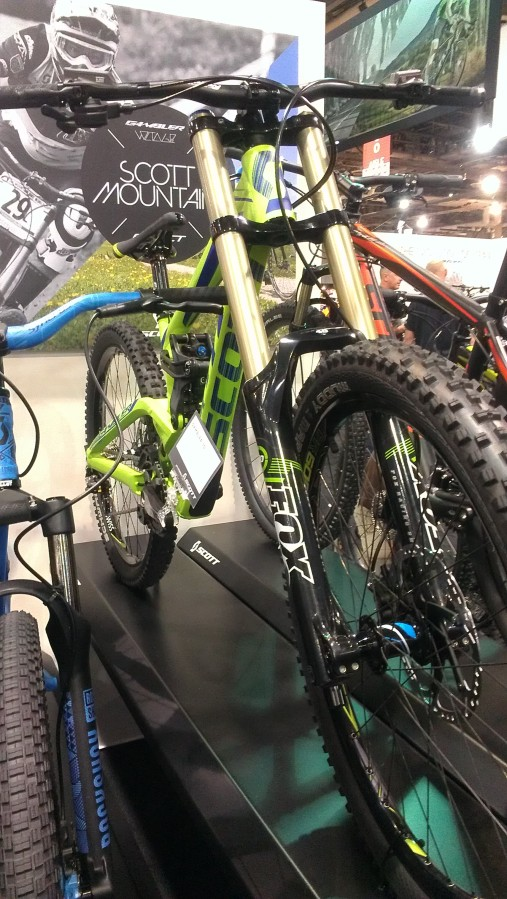 The Gambler is Scott's full on DH bike.  Adjustable enough that it can transform from super slack race bike to slightly steeper, more agile park bike.