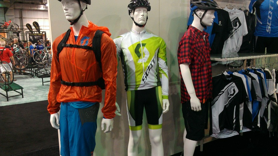 The men's clothing from Scott looked great!  Some favorites from past seasons in new colors combined with totally new products!