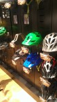 The new Feature helmet from Giro features more coverage than a traditional helmet, especially for the back of the head and neck and is very reasonably priced at $75.